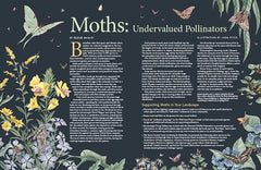 Wild Seed Magazine Volume 5: Moths - Undervalued Pollinators