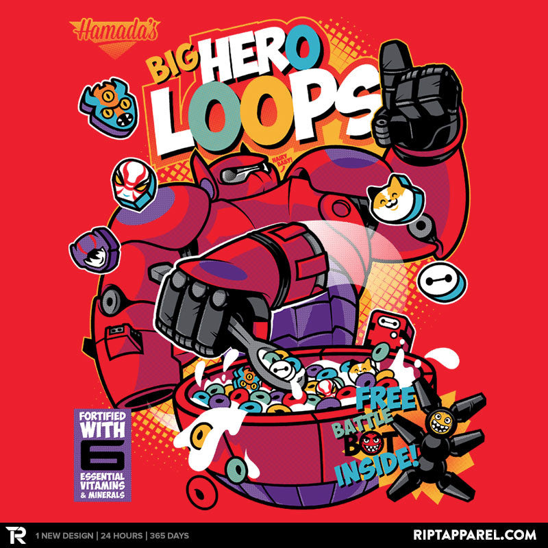 Hero Loops Cereal Exclusive - Collection Image - RIPT Apparel