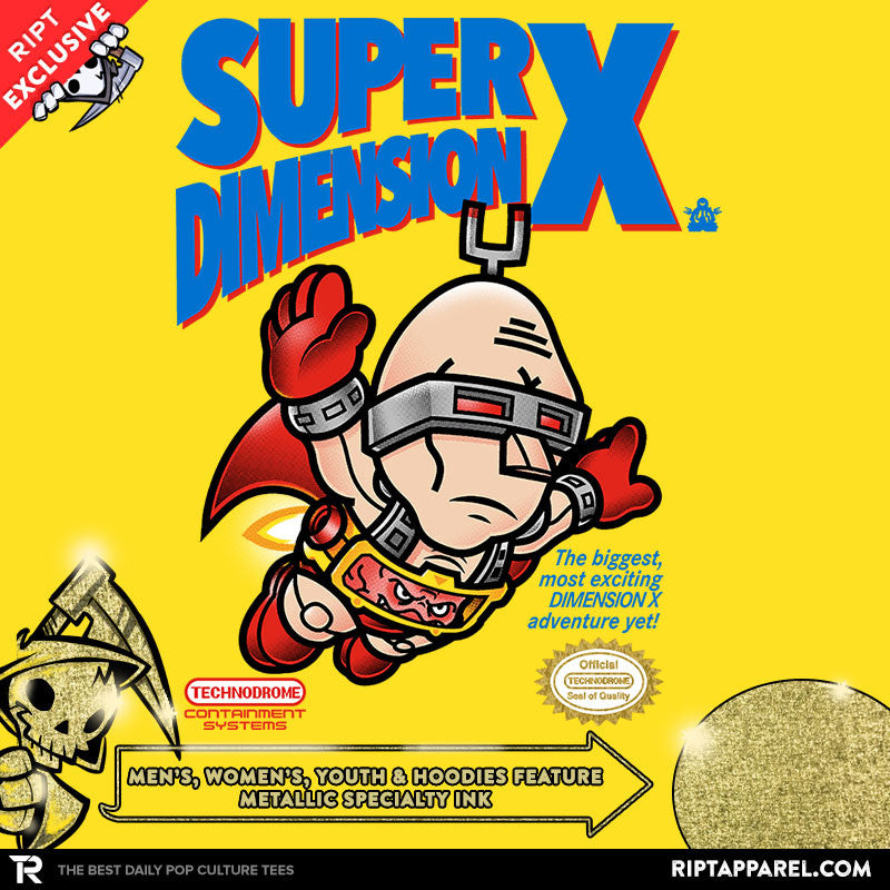 Super Dimension X - Collection Image - RIPT Apparel