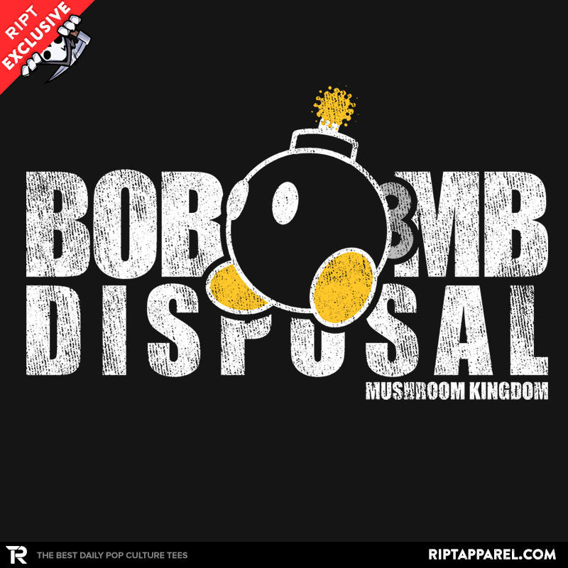 Bob-omb Disposal - Collection Image - RIPT Apparel