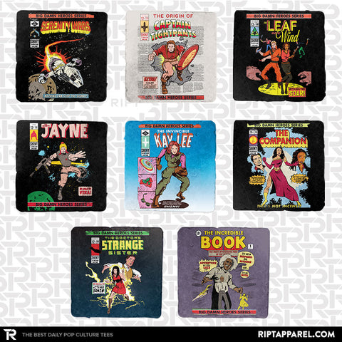 Big Damn Heroes 8-Coaster Set