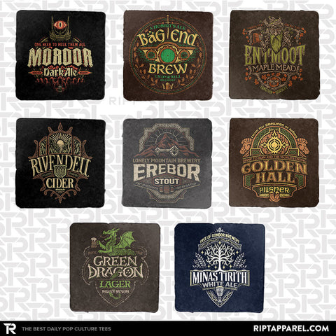 Middle Earth Brews 8-Coaster Set