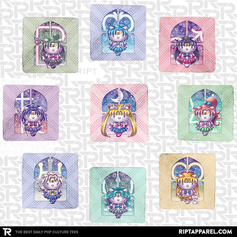 Hello Senshi 9-Coaster Set