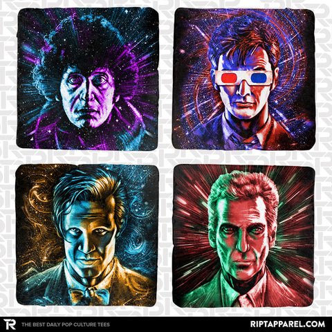 Cosmic Doctors 4-Coaster Set