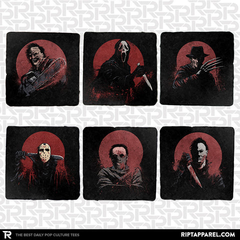 Horror Legends 6-Coaster Set
