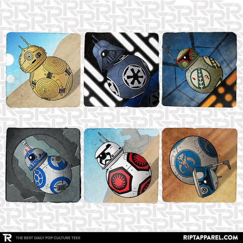 Droid Villains 6-Coaster Set