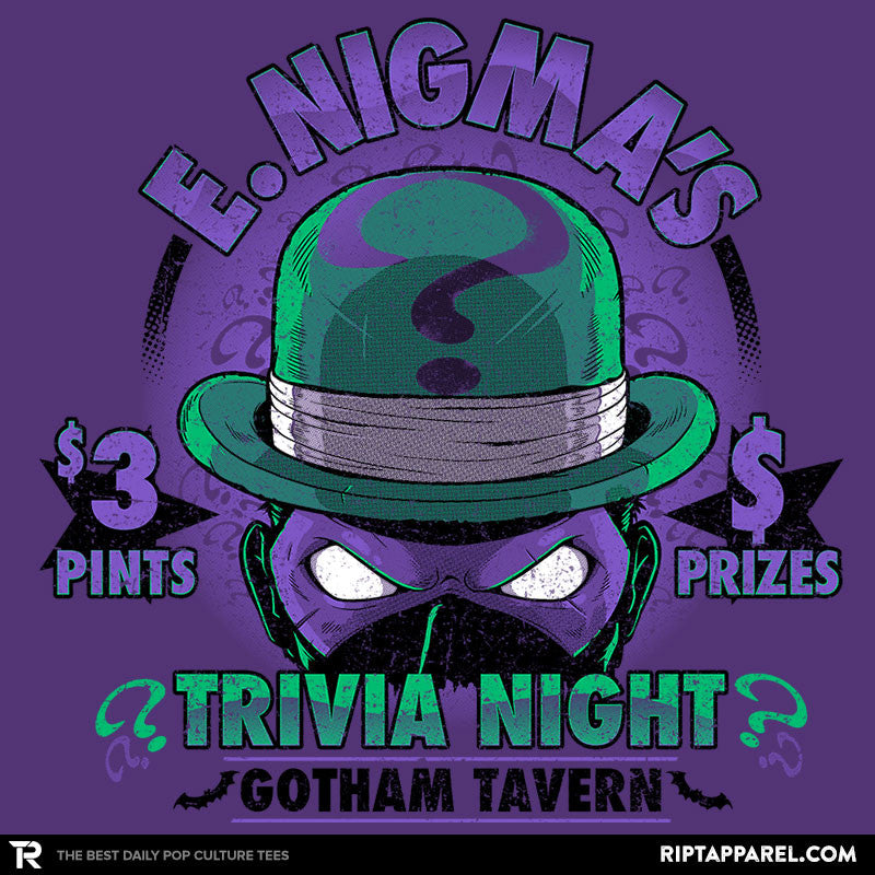 E. Nigma's Trivia Night Exclusive - Collection Image - RIPT Apparel