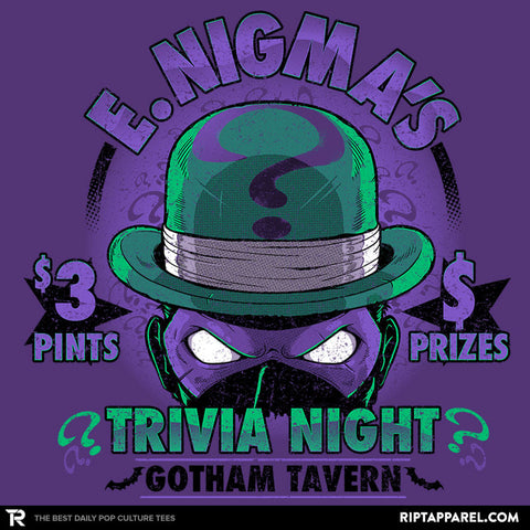 E. Nigma's Trivia Night Exclusive