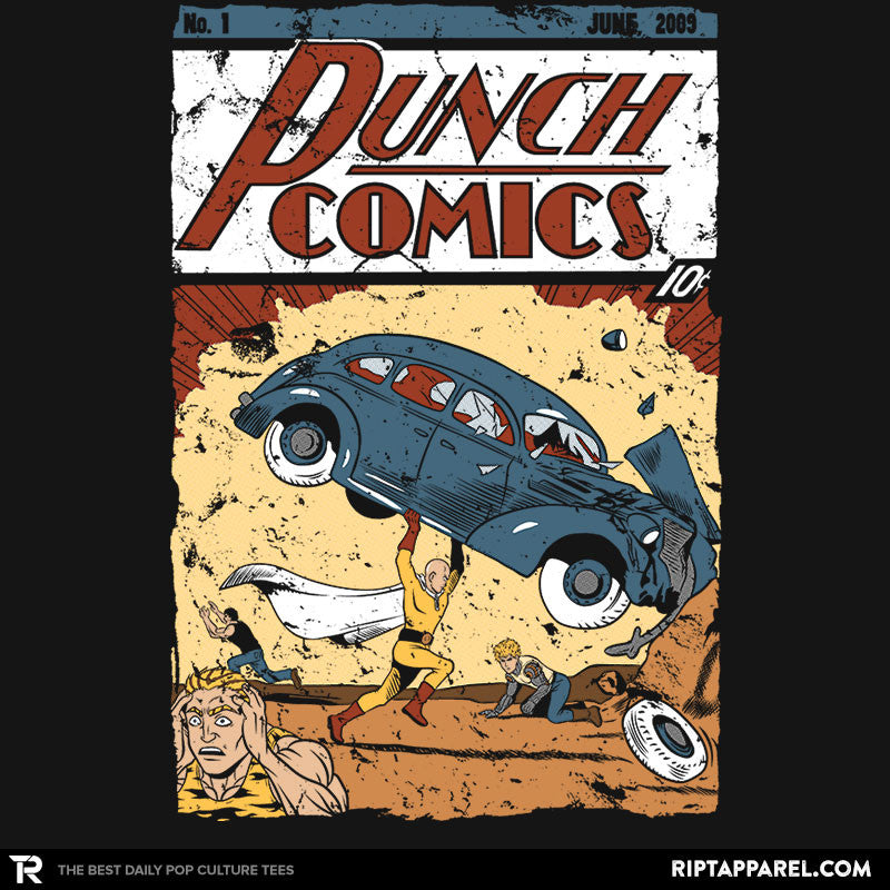 Punch Comics - RIPT Apparel