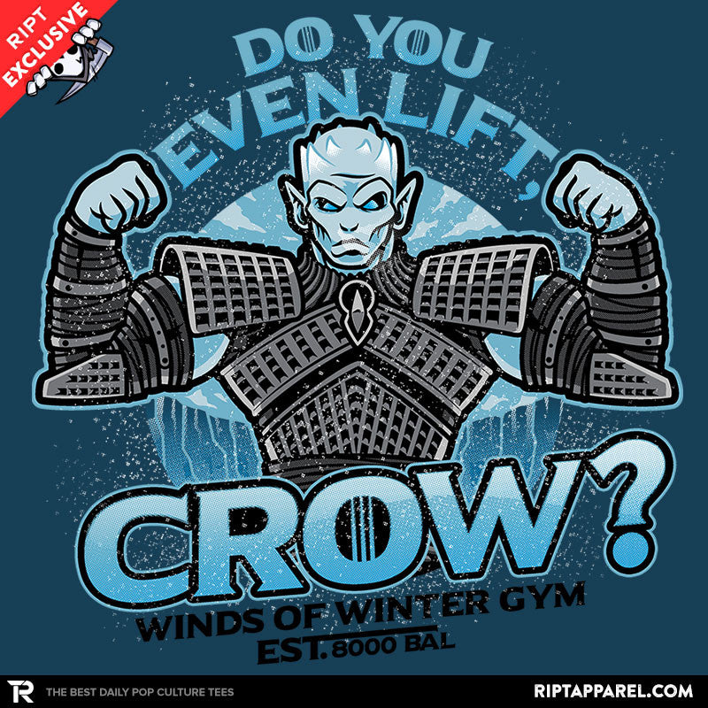 Do You Even Lift, Crow? - RIPT Apparel