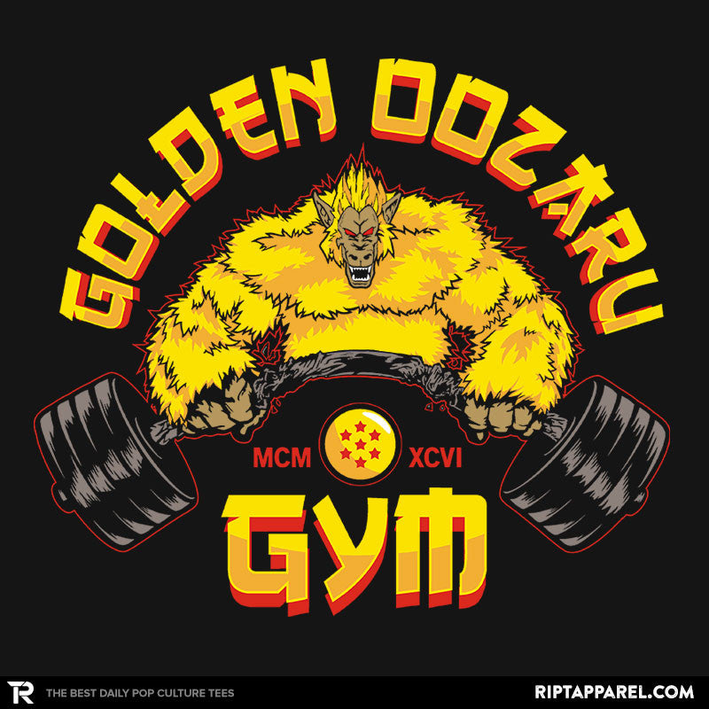 The Golden Oozaru Gym - RIPT Apparel