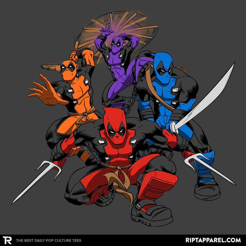 Teenage (Not) Mutant Ninja Deadpools - Collection Image - RIPT Apparel
