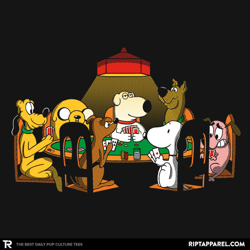 Dogs Playing Poker - RIPT Apparel