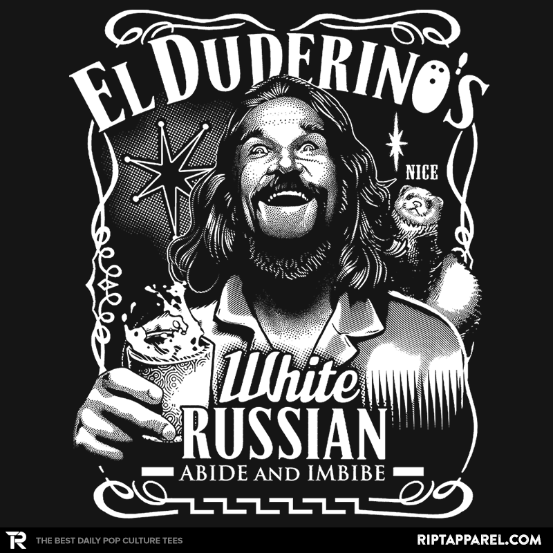 Duderino White Russian - Collection Image - RIPT Apparel