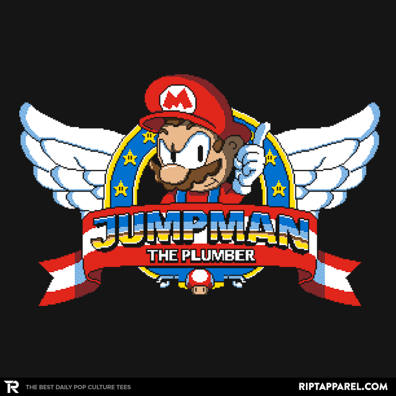 Jumpman the Plumber - Collection Image - RIPT Apparel
