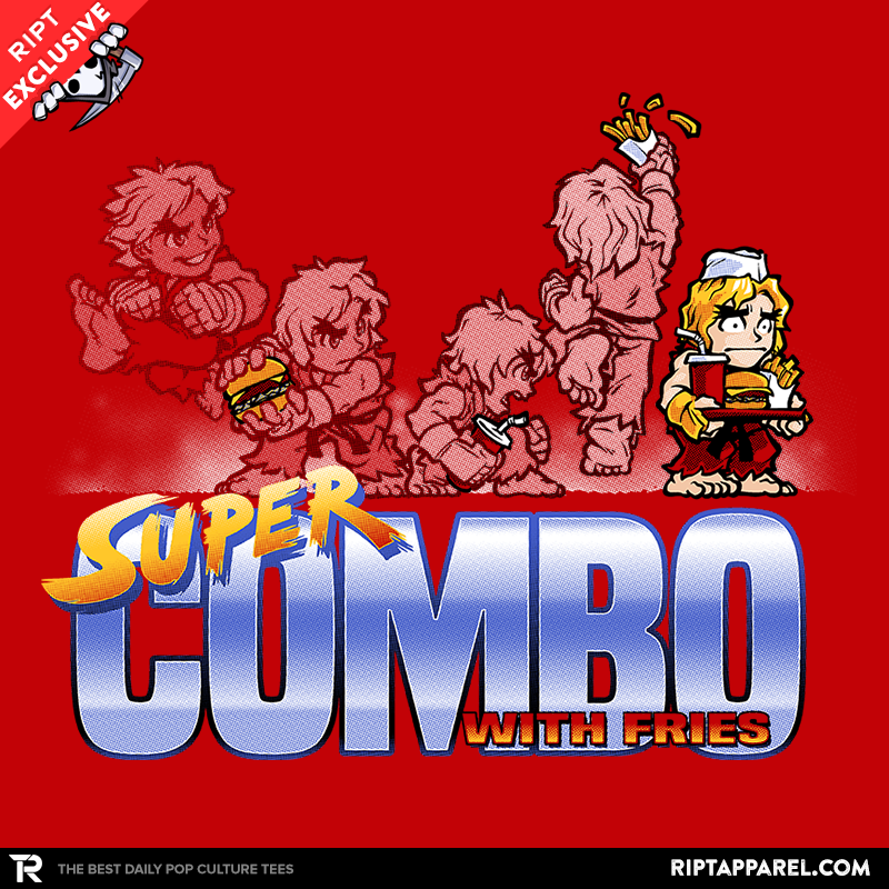Super Combo With Fries - Collection Image - RIPT Apparel