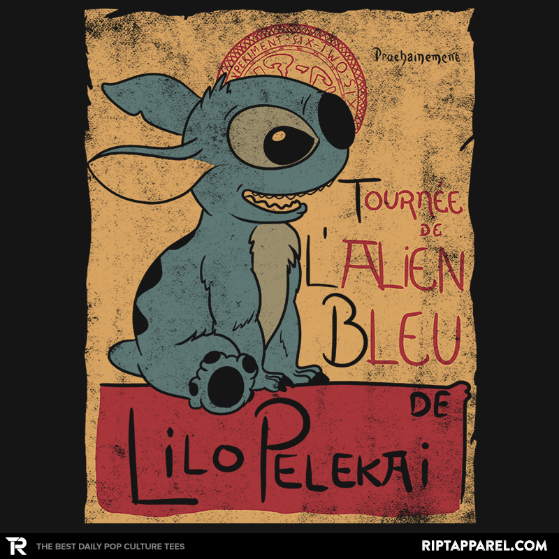 Tournee de l'alien bleu - Collection Image - RIPT Apparel