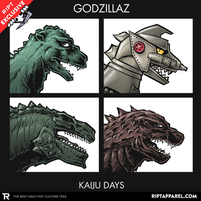 Godzillaz - Kaiju Days - Collection Image - RIPT Apparel