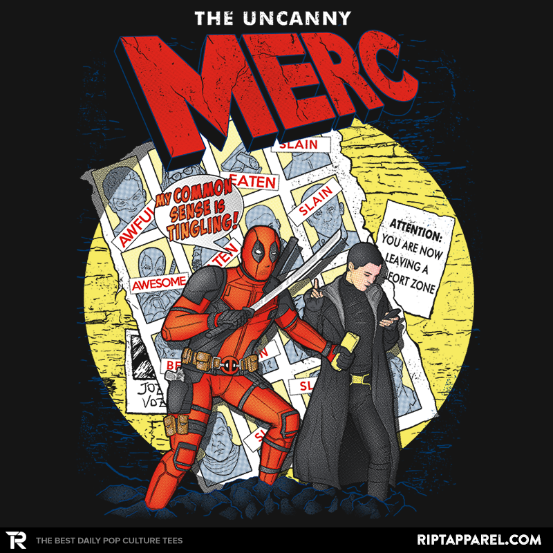The Uncanny Merc - Collection Image - RIPT Apparel