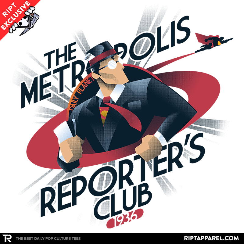 Metropolis Reporter's Club Exclusive - Collection Image - RIPT Apparel