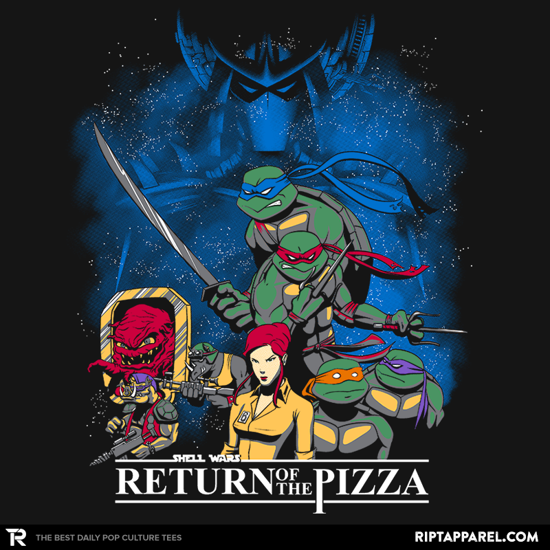 Shell Wars: Return of the Pizza - RIPT Apparel