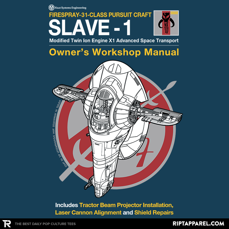 Slave Manual - Collection Image - RIPT Apparel