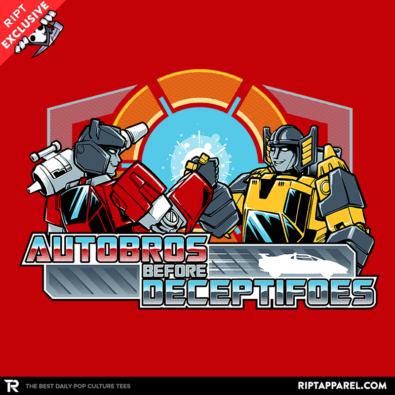 Autobros Before Decepti-foes Exclusive - Collection Image - RIPT Apparel