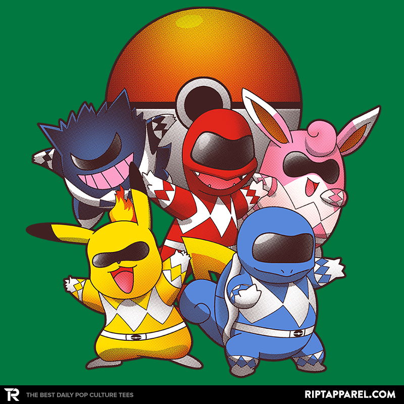 Go Go Poke Rangers - Collection Image - RIPT Apparel