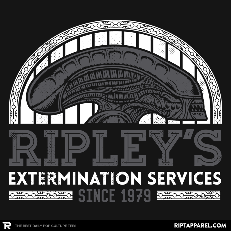 Ripley's Extermination Services - RIPT Apparel