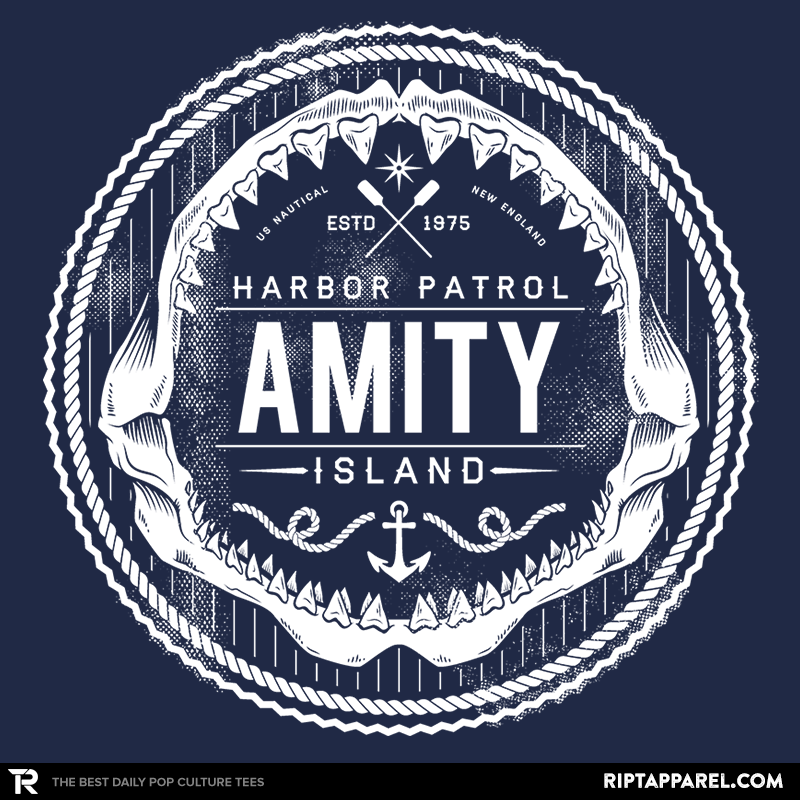 Amity Island Harbor Patrol - Collection Image - RIPT Apparel