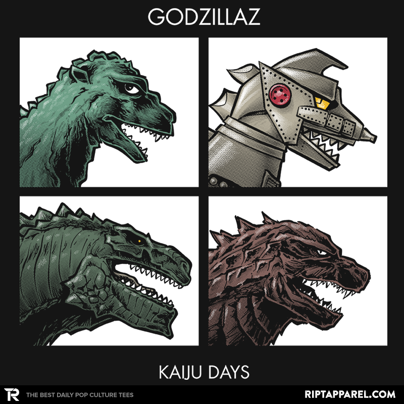 Godzillaz - Kaiju Days Exclusive - RIPT Apparel