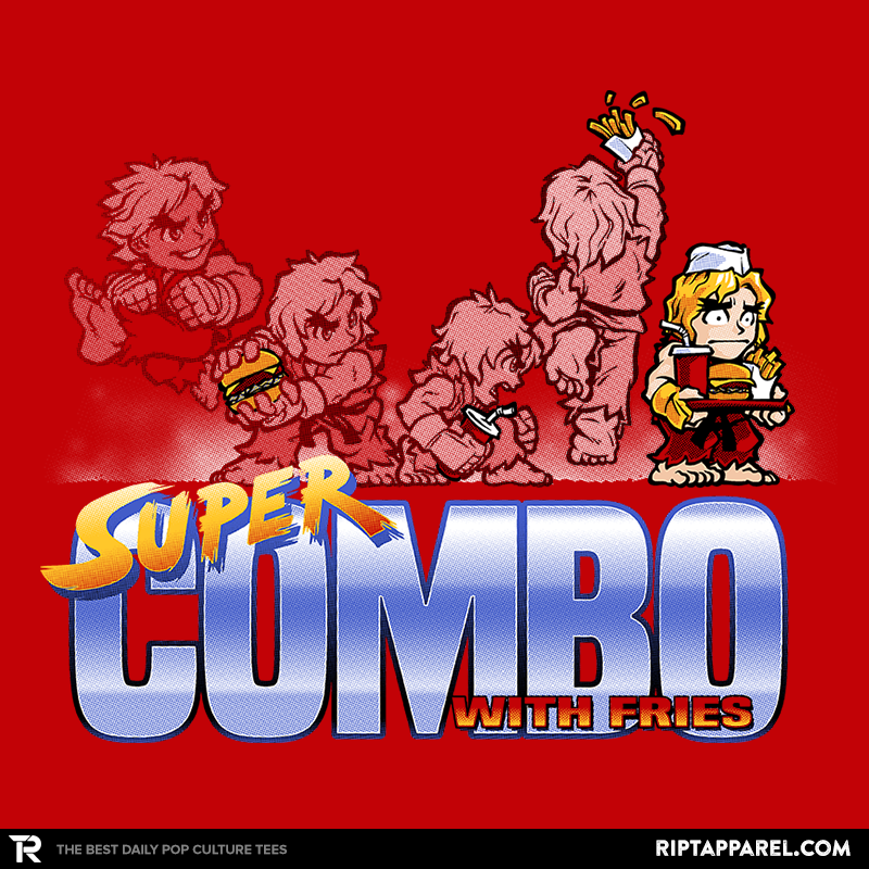 Super Combo With Fries Exclusive - Collection Image - RIPT Apparel
