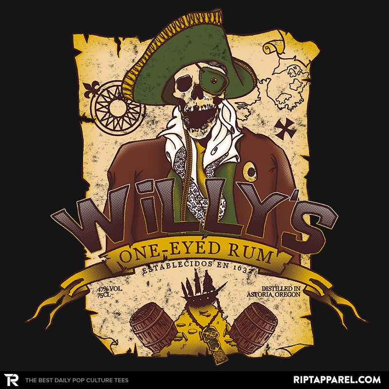 Willy's One-Eyed Rum - Collection Image - RIPT Apparel