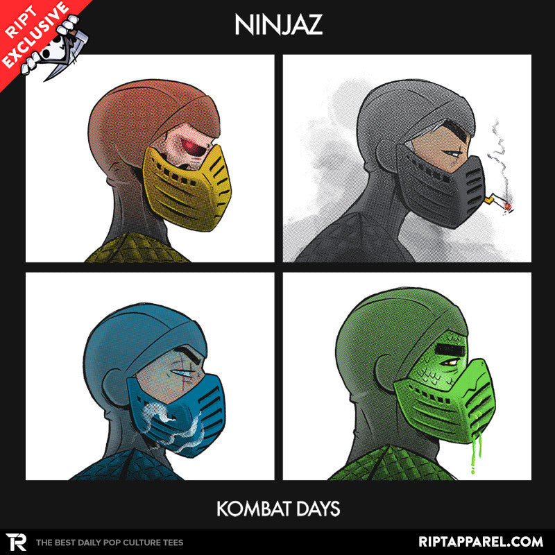 Kombat Days - Collection Image - RIPT Apparel