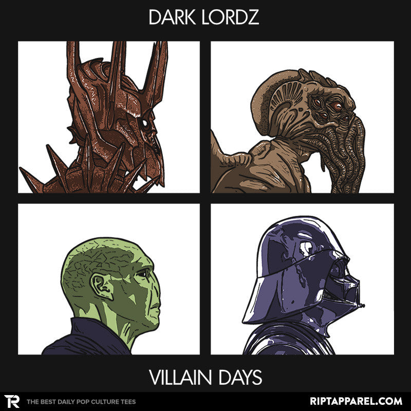 Dark Lordz - Villain Days - Collection Image - RIPT Apparel