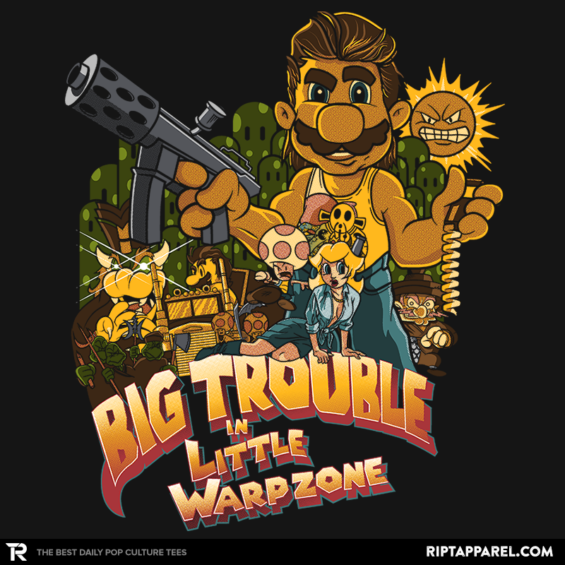 Big Trouble in Little Warpzone - Collection Image - RIPT Apparel