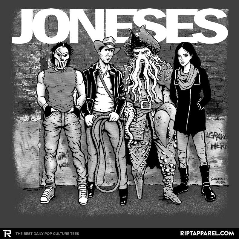 Joneses - Summer Blockbuster - RIPT Apparel