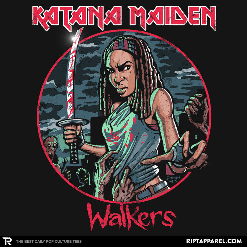 Katana Maiden - Summer Blockbuster - RIPT Apparel