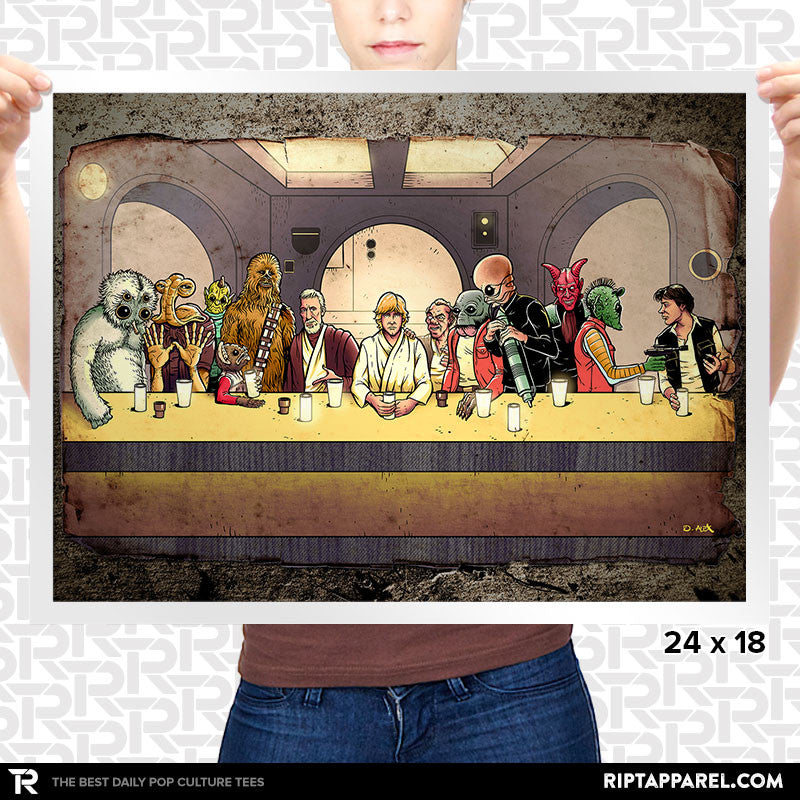The Last Cantina Hangout Poster - Summer Blockbuster - RIPT Apparel