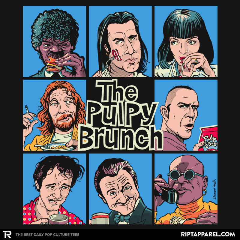 The Pulpy Bunch - Summer Blockbuster - RIPT Apparel