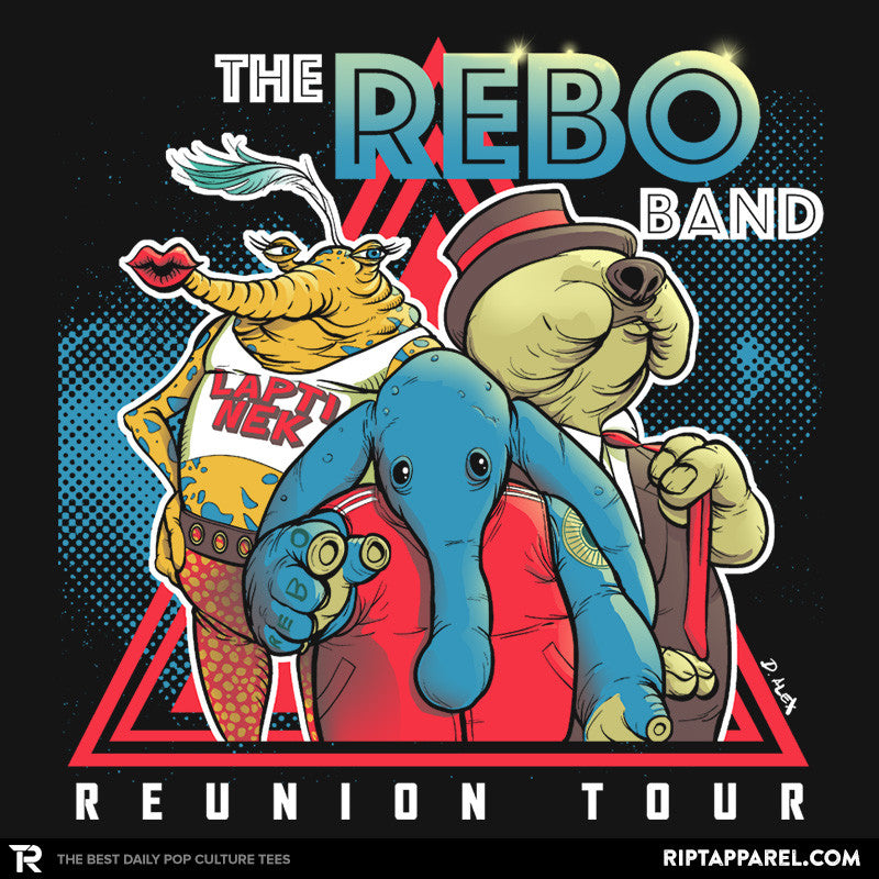 The Rebo Band - Summer Blockbuster - RIPT Apparel