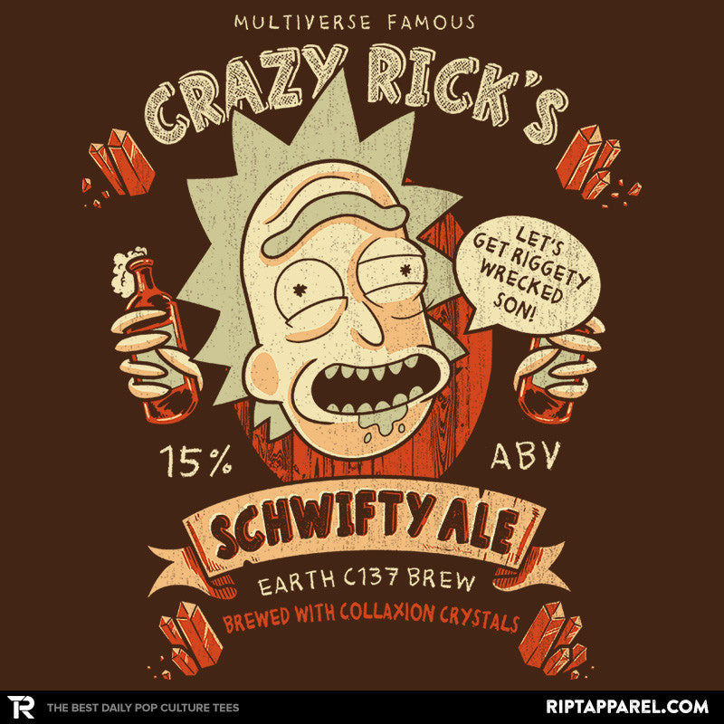 Schwifty Ale - Collection Image - RIPT Apparel