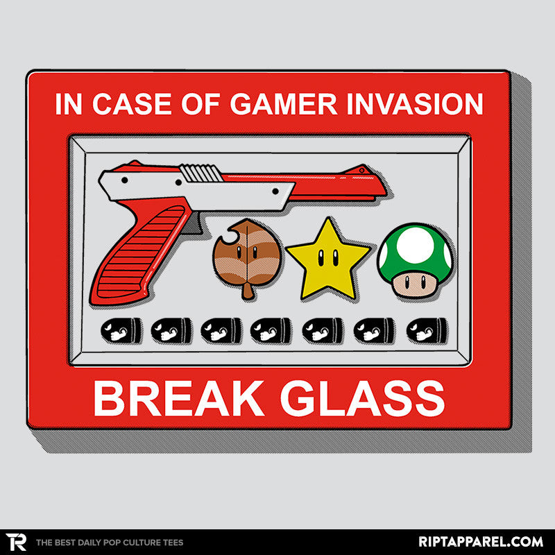 In Case of Gamer Invasion - RIPT Apparel