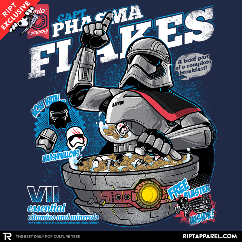 Phasma Flakes Exclusive - Collection Image - RIPT Apparel