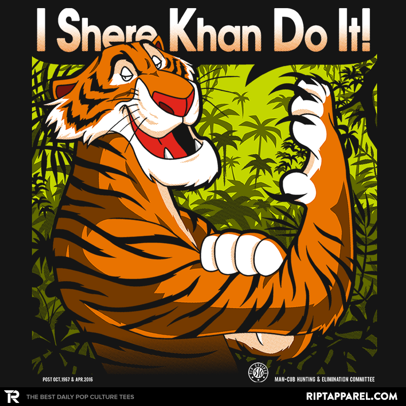 The Tiger Khan Do It - RIPT Apparel