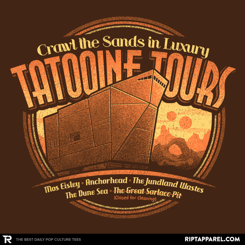 Tatooine Tours - Collection Image - RIPT Apparel