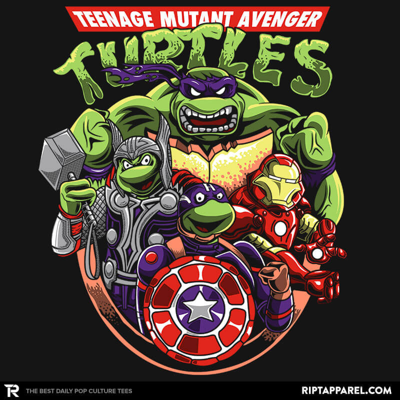 Teenage Mutant Avenger Turtles - RIPT Apparel
