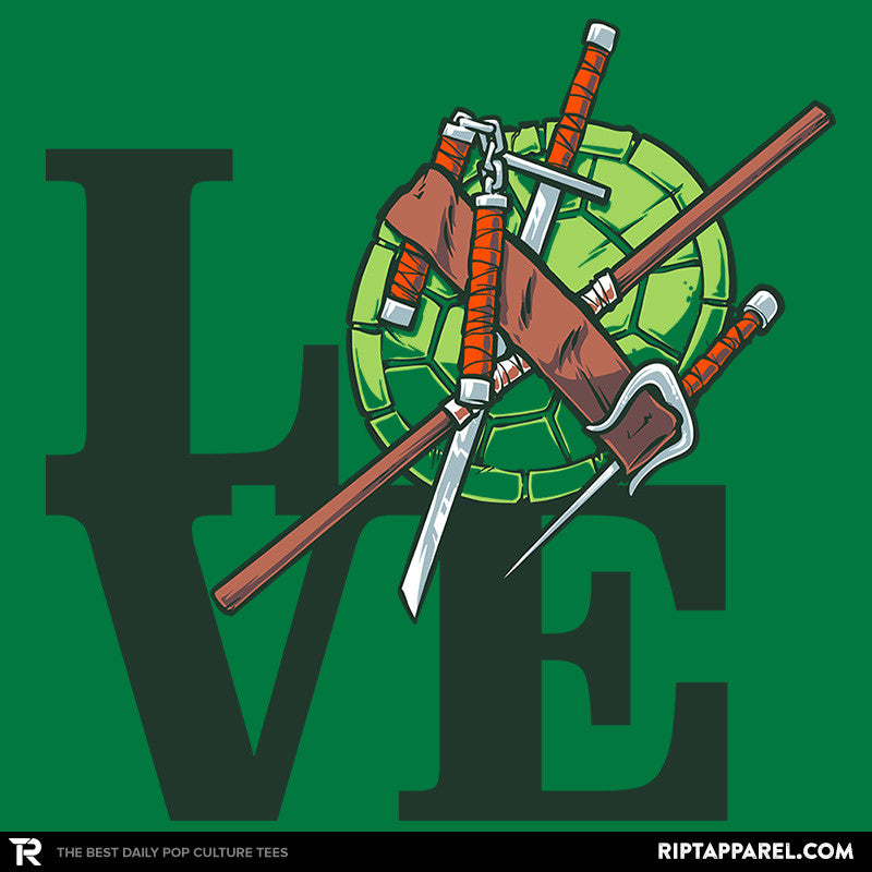 Turtle Love Exclusive - RIPT Apparel