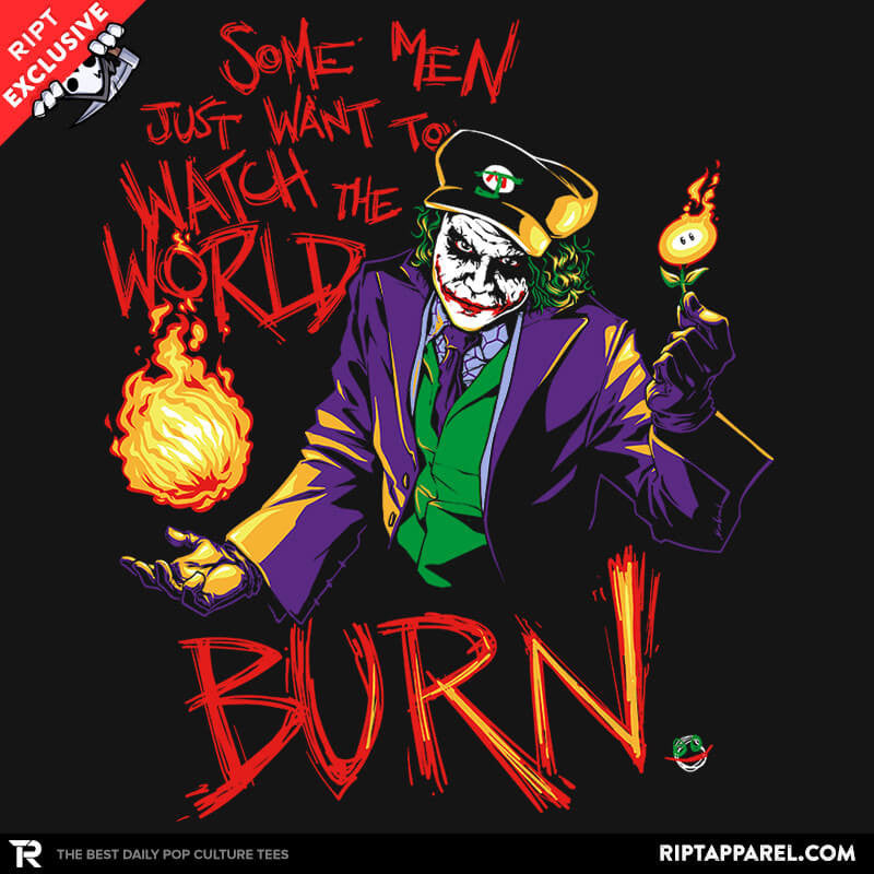Watch The World Burn Exclusive - Collection Image - RIPT Apparel