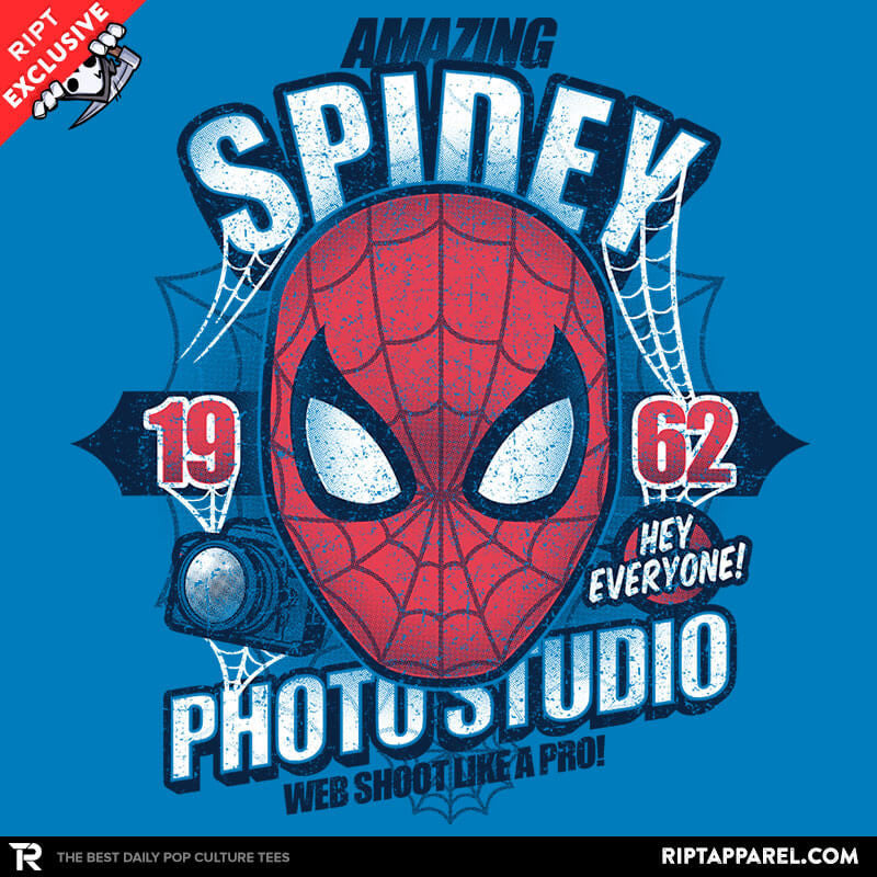 Spidey Photo Studio Exclusive - Collection Image - RIPT Apparel